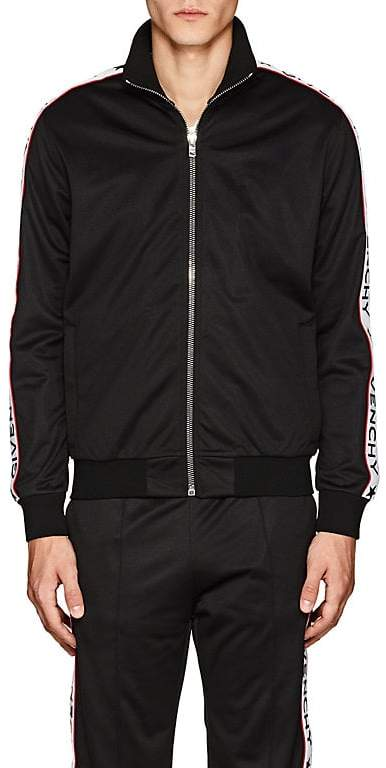 Givenchy Men's Logo Fleece Track Jacket