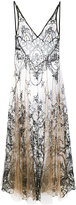 I.D. Sarrieri I.D.Sarrieri - floral embroidery sheer nightgown - women - Polyamide/Viscose - S