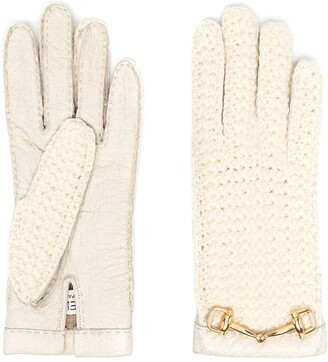Céline Pre-Owned 1970s Pre-Owned Horsebit Gloves