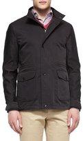 Peter Millar Palmetto Lightweight Jacket, Black