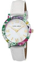 Laura Ashley Women's LA31003WT Analog Display Japanese Quartz White Watch