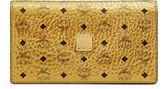 MCM Color Visetos Crossbody Wallet