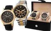 Akribos XXIV Men's Quartz Watch Gift Set
