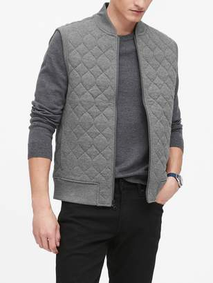 Banana Republic Cozy Quilted Vest