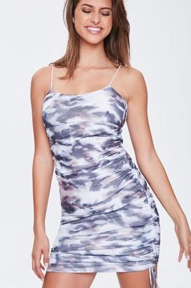 Forever 21 Watercolor Mini Cami Dress
