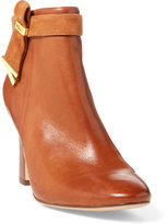 Ralph Lauren Leather Ankle Boot