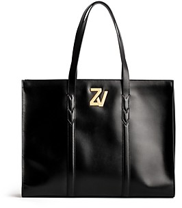 Zadig & Voltaire Zv Initiale Leather Tote