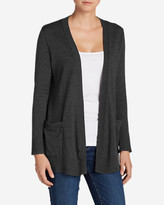 Eddie Bauer Women's Boyfriend Travel Cardigan