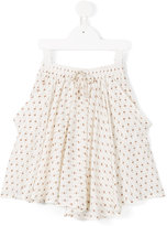 Caffe' D'orzo - printed folk skirt - kids - Viscose - 2 yrs