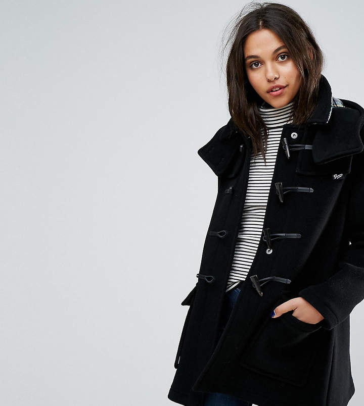 Gloverall Exclusive Duffle Coat With Detachable Hood