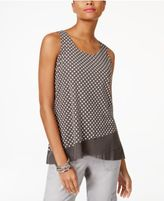 INC International Concepts Layered-Look Tank Top, Created for Macy's