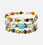 Avenue Autumn Bead Stretch Bracelet Set