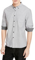 Kenneth Cole New York Slim Fit Solid Sportshirt