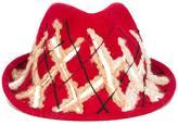 Le Chapeau 'x' fedora hat