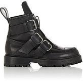 Paco Rabanne Women's Buckle-Strap Trek Ankle Boots