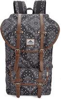 Steve Madden Men's Bandana Utility Backpack