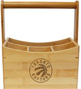 Toronto Raptors Bamboo Utensil Caddy