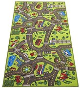 """Angels Extra Large 79"""" x 40""""! Kids Carpet Playmat Rug- Great For Playing With Cars - Play, Learn And Have Fun Safely"""