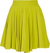 Cushnie et Ochs Gathered stretch-jersey mini skirt