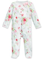First Impressions 1-Pc. Floral-Print Footed Coverall, Baby Girls (0-24 months), Created for Macy's