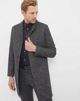 mel Melton wool overcoat