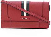 Bally stripe shoulder bag - women - Calf Leather - One Size