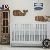 Pam Grace Creations Anchors Away Nautical Basics 2 Piece Crib Bedding Set