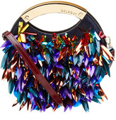 DELPOZO Embellished Circle Shoulder Bag