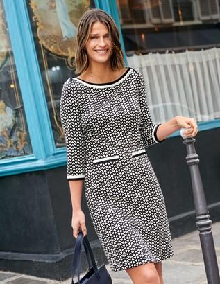 Rhea Jacquard Dress