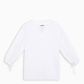 Jil Sander White tunic shirt