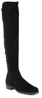 Stuart Weitzman 5050 Over-The-Knee Stretch-Suede Boots