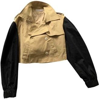 Preen Beige Cotton Jacket for Women