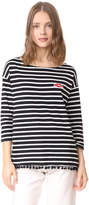 Sundry Lips Stripe Tee