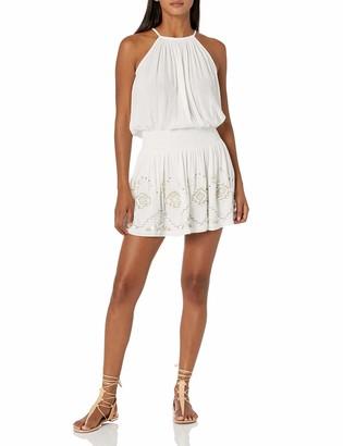 Ramy Brook Women's Emily Sleeveless Dress with Fringe Detail