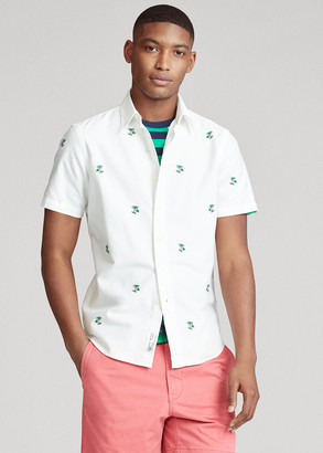 Ralph Lauren Classic Fit Palm Tree Shirt