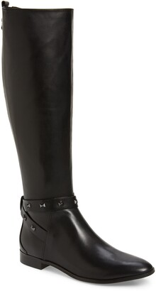 Ted Baker Plannia Bow Hardware Knee High Riding Boot