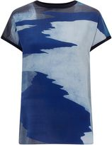 Jigsaw Ocean Tide Silk Front Jumper
