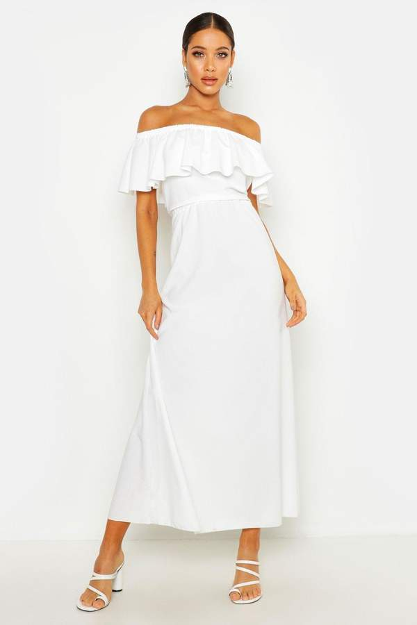 5d2d8cb50545 boohoo White Dresses - ShopStyle
