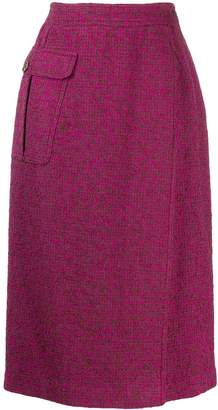 Valentino Pre-Owned 1980's fold over skirt
