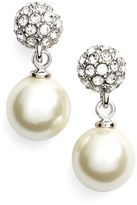 Givenchy 'Fireball' Faux Pearl Drop Earrings