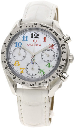 Omega MOP Stainless Steel Speedmaster Olympic Edition 3836.7036 Men's Wristwatch 39 MM
