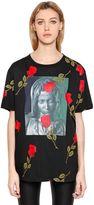 Marcelo Burlon County of Milan Chekkar Madonna & Roses Jersey T-Shirt