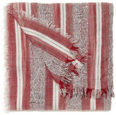 Nine West Striped Oblong Scarf