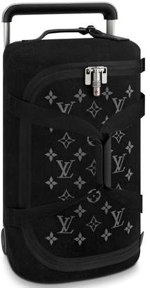 Louis Vuitton Horizon Duffle Soft Jacquard 55 Black