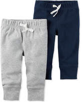 Carter's 2-Pk. Drawstring Cotton Pants, Baby Boys