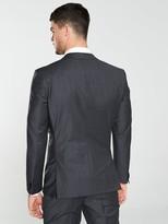 HUGO Hugo Arti Stretch Slim Fit Mini Houndstooth Suit Jacket