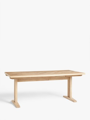 John Lewis & Partners Estate 6-10 Seater Extending Dining Table, Natural