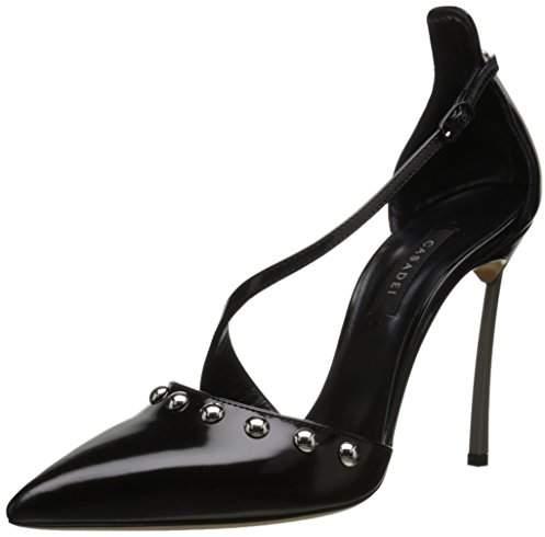 Casadei Women's Milano Blade Van Argento Dress Pump