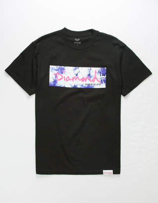 Diamond Supply Co. Color Burst Box Logo Mens T-Shirt