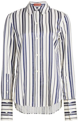 Altuzarra Giselda Striped Shirt